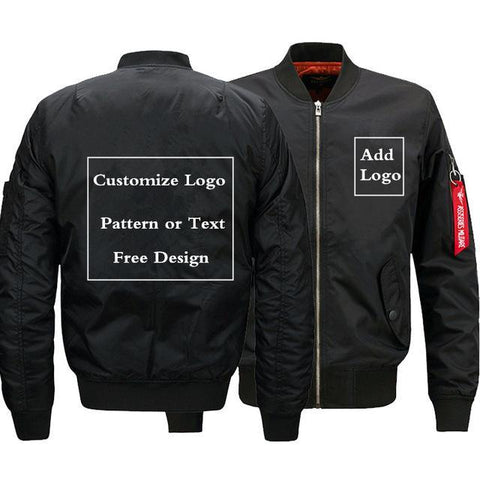 Customize Logo Bomber Jacket