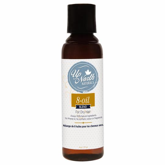Up North Naturals 8-Oil Hair Blend