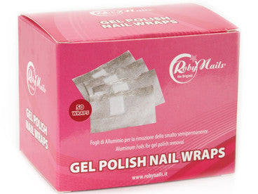 Gel Polish - Aluminum Nail Wraps