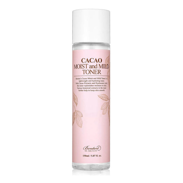 Benton Cacao Moist and Mild Toner Best Korean Beauty Skincare at Nudie Glow in Australia