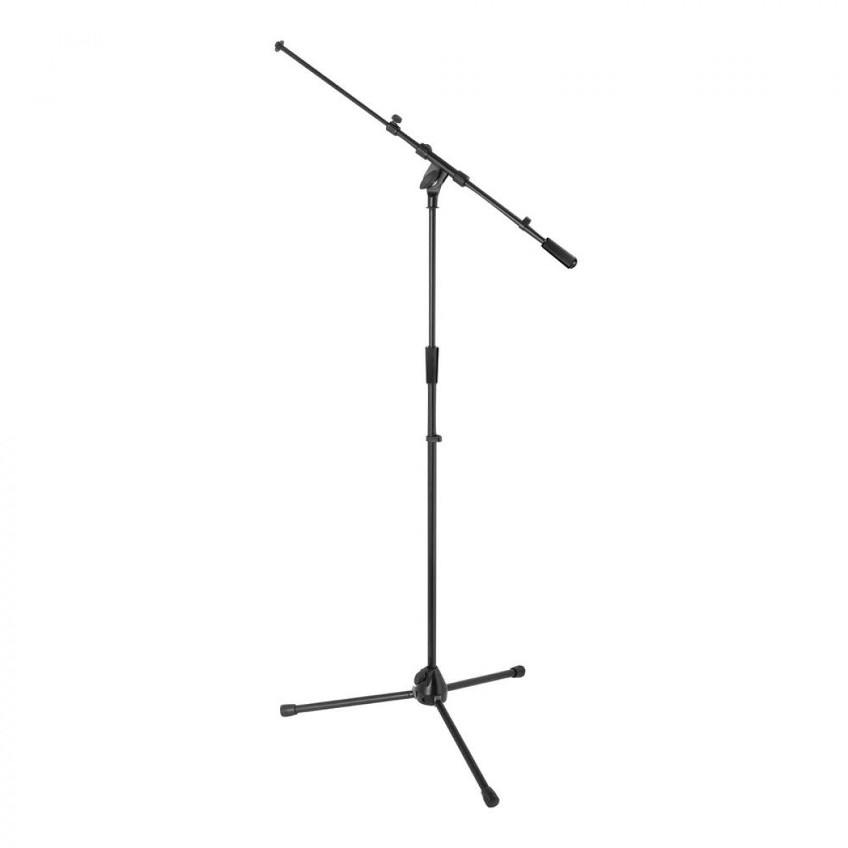On-Stage MS9701TB+Heavy-Duty Tele-Boom Mic Stand - Audio Leaders