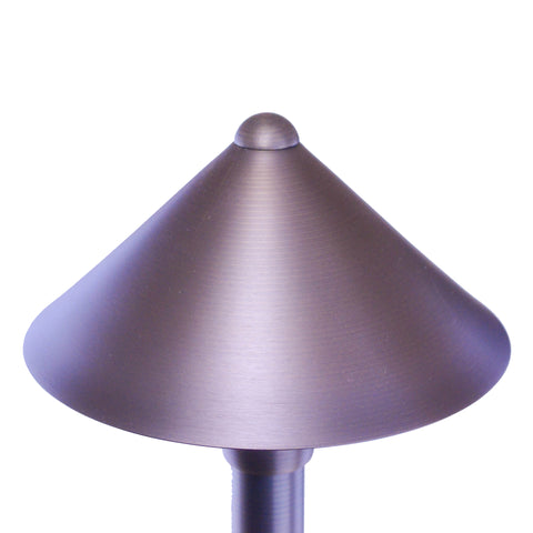 Cone Head Outdoor LED Path Lights