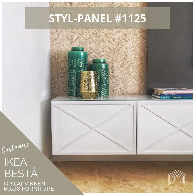 Styl-Panel #1125 to suit IKEA Besta 60x38 furniture