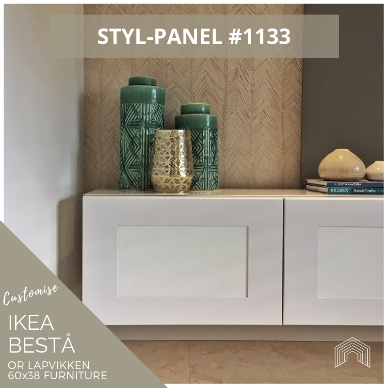 Styl-Panel #1133 to suit IKEA Besta 60x38 furniture