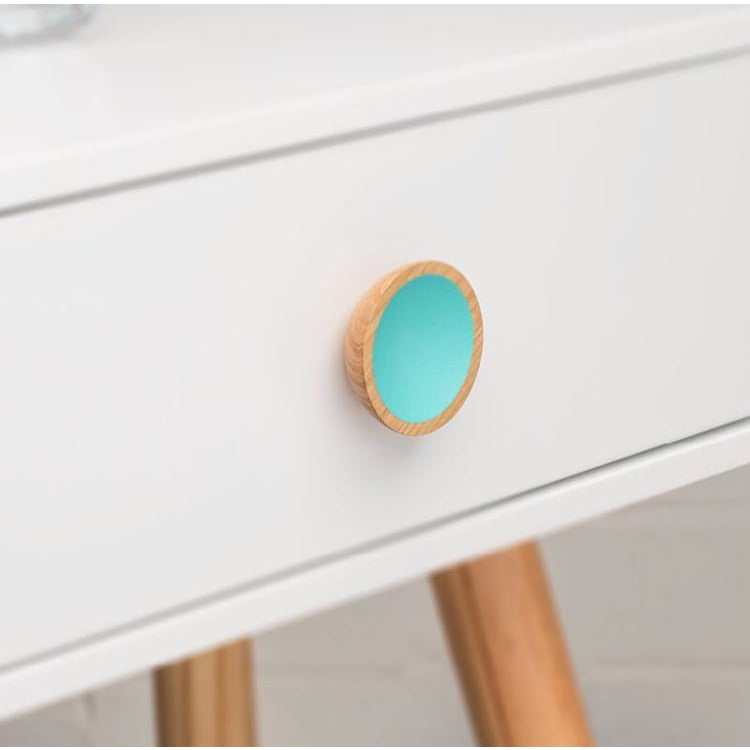 Turquoise handle for IKEA hacks and more