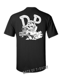 DP Cuda t-shirt - BLACK - DUANE PETERS