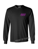 Good Luck long sleeve shirt - BLACK | Bad Grease Inc