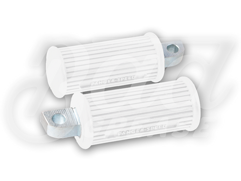 Pangea-Speed Elice Foot Pegs - WHITE | Bad Grease Inc
