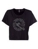 Shadow Wolf ladies bella 8881 t-shirt - BLACK | Bad Grease Inc