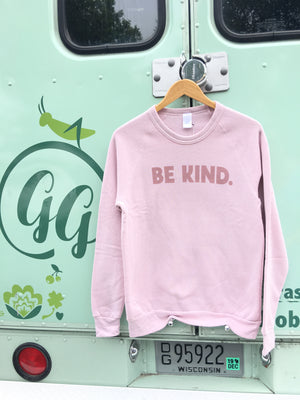 August Ink-Be Kind Fleece Sweatshirt