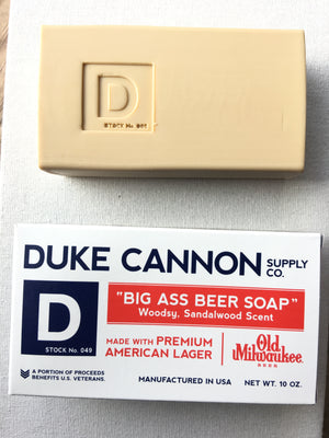 Duke Cannon Beer Soap