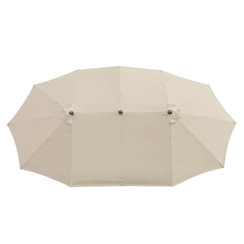 15x9 ft Patio Umbrella Rectangular with Wind Vent