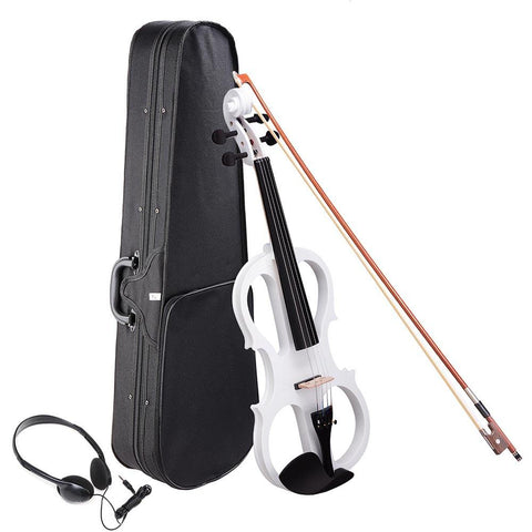 Image of 4/4 Electric Violin w/Case & Headphones