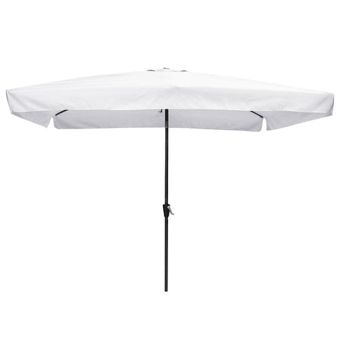 10'x6.5' Rectangular Tilt Patio Umbrella