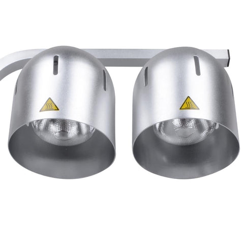 Dual Food Warmer Lamp