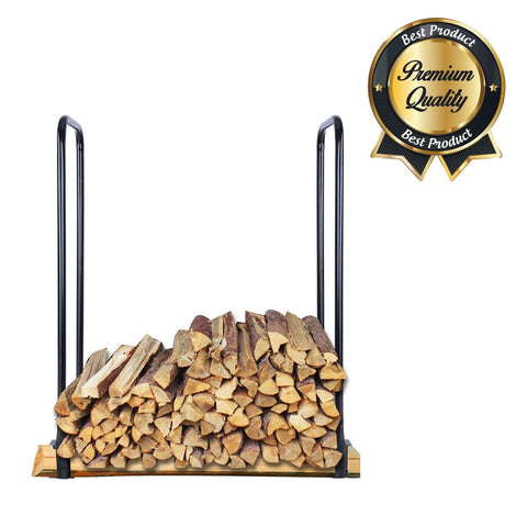 Image of Outdoor Firewood Storage Rack