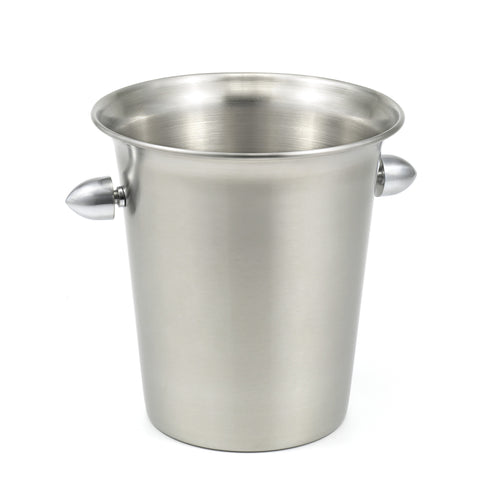 StainlessLUX 73162 Brushed Stainless Steel Ice Bucket - Large (4.5 Liters)