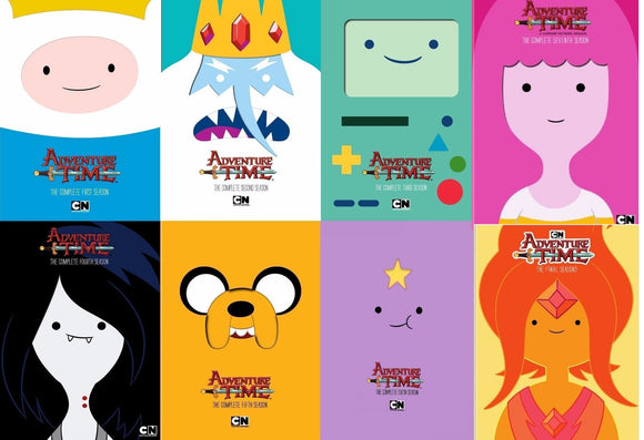 Adventure Time The Complete Series Seasons 1-10 DVD 2018 Brand New Sealed - FaveShop