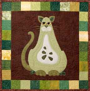 Boscat - Garden Patch Cats  Pattern - StoryQuilts.com
