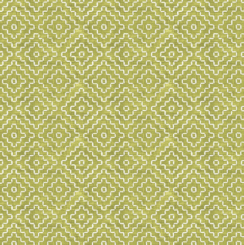 Cactus Diamond Lime by David Textiles  Fabric - StoryQuilts.com