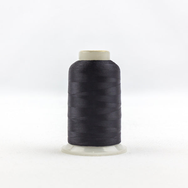 IF101 - InvisaFil 100wt Cotton Polyester Black Thread - wonderfil-online-uk