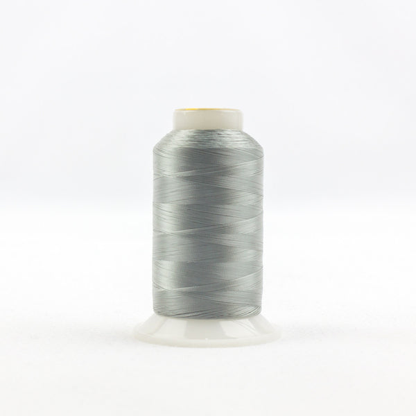 IF103 - InvisaFil 100wt Cotton Polyester Grey Thread - wonderfil-online-uk