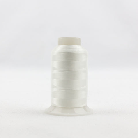 IF104 - InvisaFil 100wt Cotton Polyester White Thread - wonderfil-online-uk