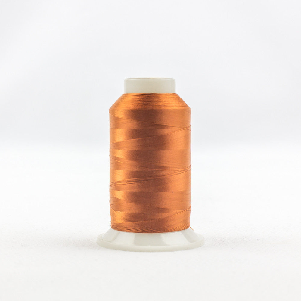 IF721 - InvisaFil 100wt Cotton Polyester Rust Thread - wonderfil-online-uk