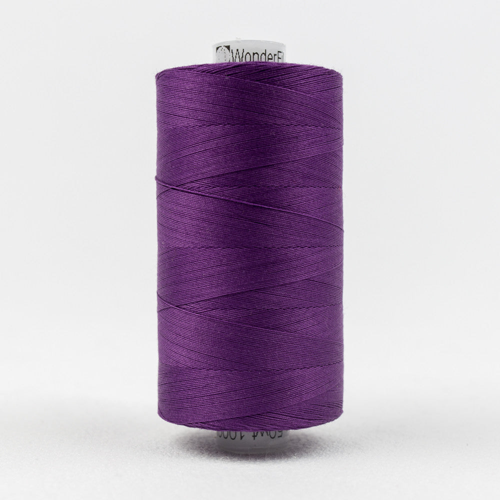 KT605 - Konfetti 50wt Egyptian Cotton Purple Thread - wonderfil-online-uk