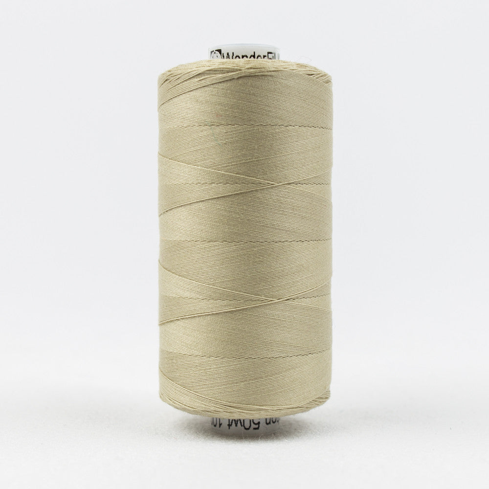 KT807 - Konfetti 50wt Egyptian Cotton Tan Thread - wonderfil-online-uk