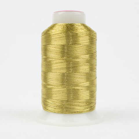 MT6602 - 40wt Metallic Light Gold Thread - wonderfil-online-uk
