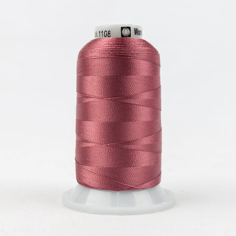 R1108 - 40wt Rayon Faded Rose Thread - wonderfil-online-uk
