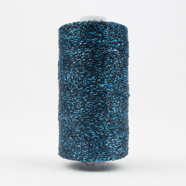 SM11 - Sizzle Rayon and Metallic Blue Grass Green Thread - wonderfil-online-uk
