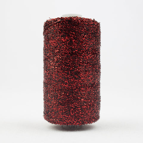 SM24 - Sizzle Rayon and Metallic Christmas Red Thread - wonderfil-online-uk