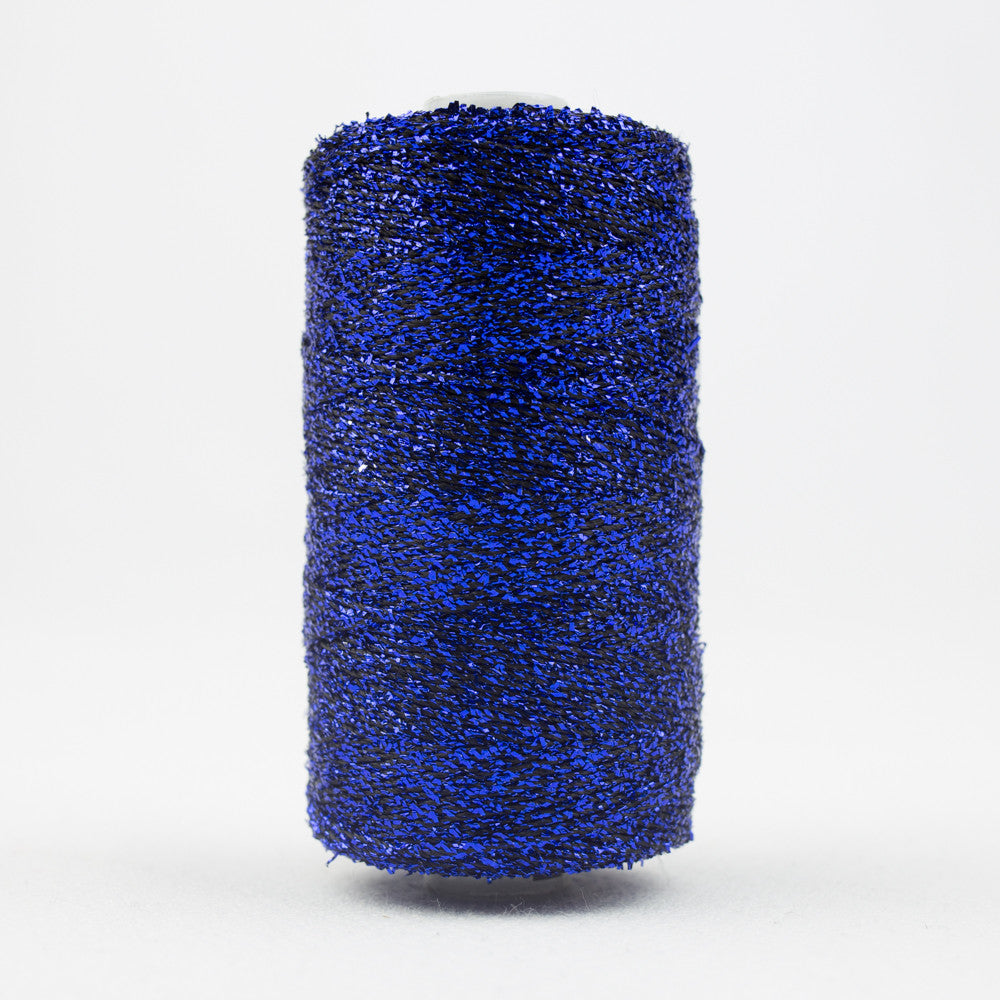 SM69 - Sizzle Rayon and Metallic Dark Blue Thread - wonderfil-online-uk