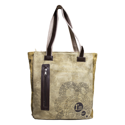 ANDI BAG - ARMY CANVAS