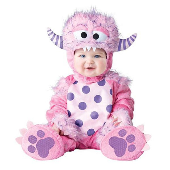 Kids Baby Goat Animal Cosplay Costume for Halloween and Purim Festival Holiday Performance Baby Clothing Rompers