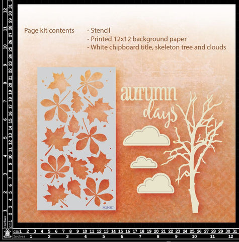 KK1844 Autumn Days Page Kit