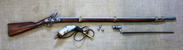 Brown Bess Musket (with bayonet)  - COUNTER SALE ONLY