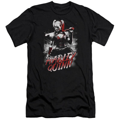 Batman - Arkham Quinn City Men's Slim Fit T-Shirt