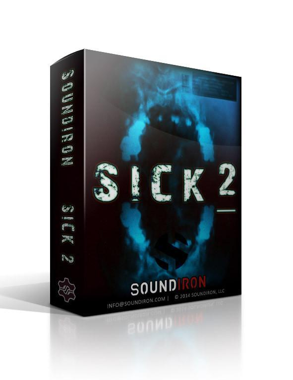Soundiron Sick 2 3D Box Art