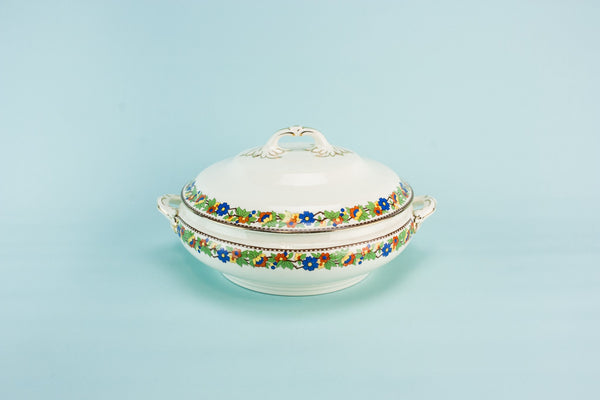 Art Deco pottery tureen