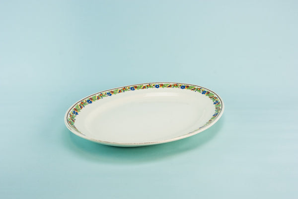Art Deco pottery platter