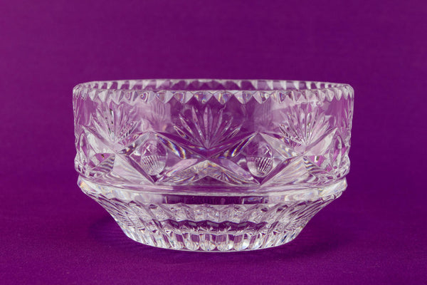 Small Royal Doulton glass bowl