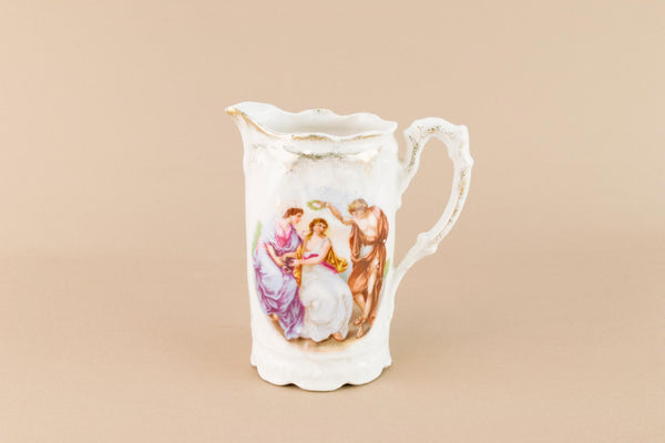 Porcelain milk jug, German Early 1900s