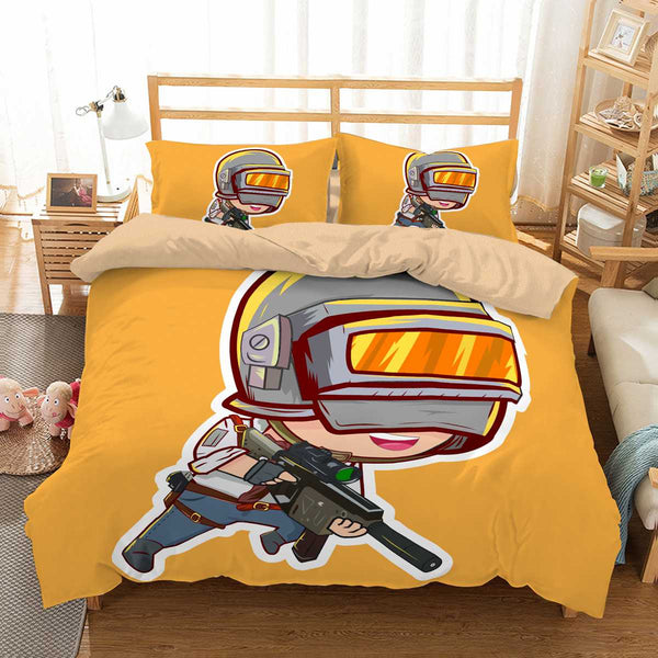 3D Customize Pubg Bedding Set Duvet Cover Set Bedroom Set Bedlinen