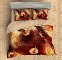 3D Customize The Flash Bedding Set Duvet Cover Set Bedroom Set Bedlinen - Three Lemons Hometextile