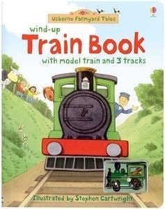 Usborne Wind-Up Train Book