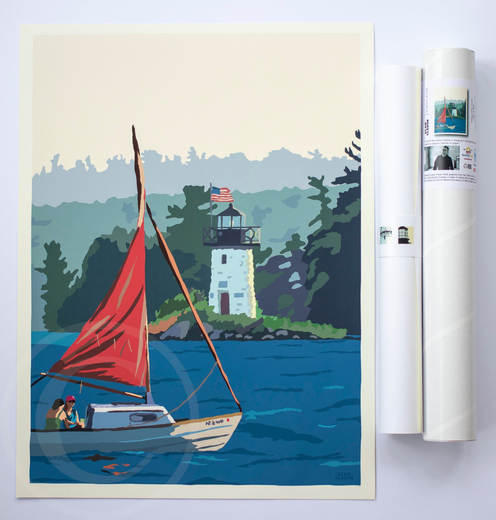 "Sailing Ladies Delight Art Print 18"" x 24"" Wall Poster"