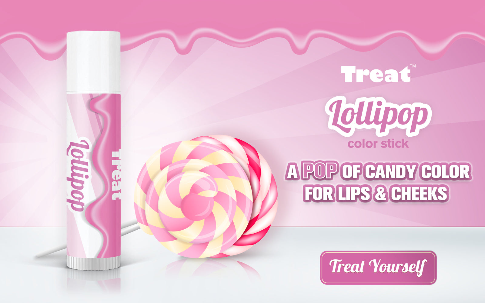 Treat Lollipop Color Stick